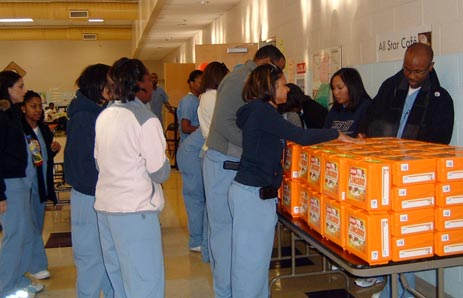 Meharry Medical College, School of Dentistry students